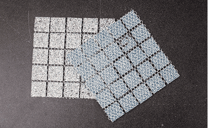 Mosaic for swimming pool tiles