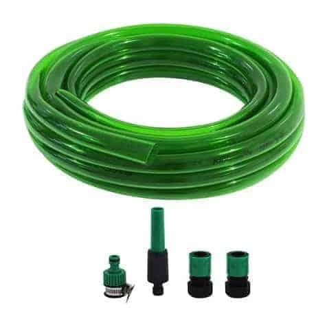 สายยางม้วน PVC ใส SCG 5/8 นิ้ว x 10 ม. สีเขียว